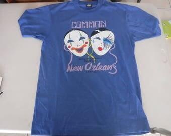 80's New Orleans vintage t shirt sreen stars best Large