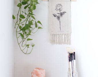 Birth Flower Tapestry