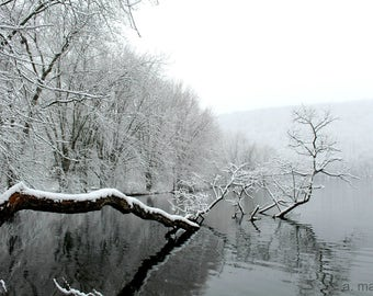 "8"" x 10"" Snow Scene Photograph"