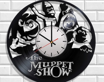 The Muppet Show wall clock , design clock on the wall The Muppet Show