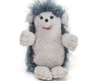 Plush hedgehog Stuffed hedgehog Gift for kids Handmade Soft toy
