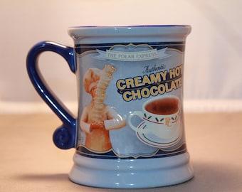 "Ceramic Two Dimensional ""Polar Express"" Mug."