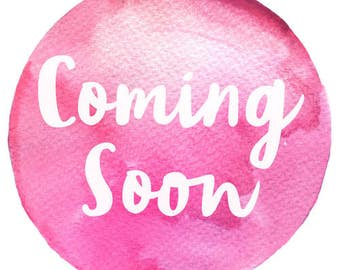 Coming Soon Stay Updated!