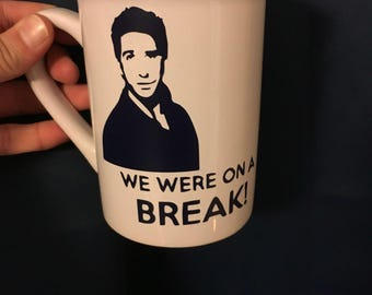 Ross Geller coffee mug