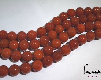 Red Agate Carnelian 18mm beads 5 pcs, natural agate manufacture offers