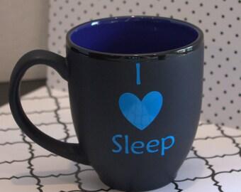 I Heart Sleep Mug