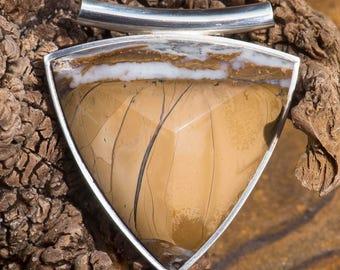 Clay Stone Pendant