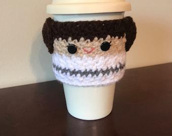 Princess Leia Coffee Cozy