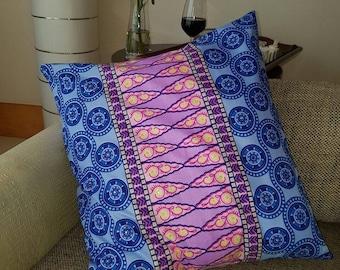 Wax Print Nylon Cushion Cover