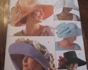 Hat Pattern, Butterick 4472, All Sizes