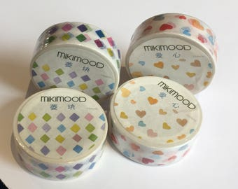 MikiMood Rainbow Washi