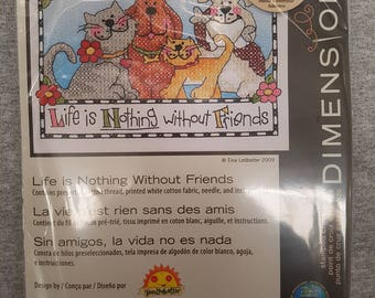 Stamped Cross Stitch Kit