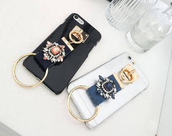 Jewel Ring Charm case for iPhone 6, iPhone 6 plus, iPhone 7, and iPhone 7 plus