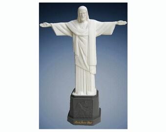 Cristo Redentor estatua resina Jesús Rio de Janeiro RJ Brasil Original