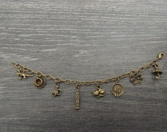 Friends TV Charm Bracelet