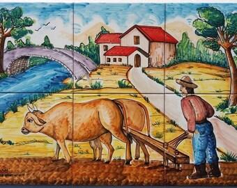 Mural Tiles factory