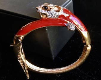 Panetta Panther Cuff Bracelet