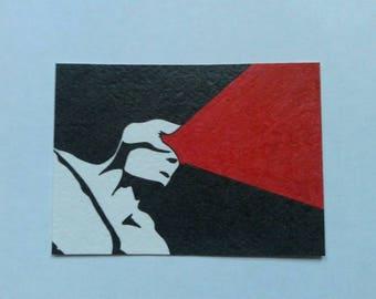Cyclops Sketch Card