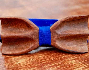Recycled Wooden Bowtie