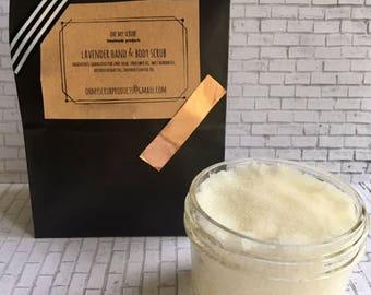 Lavender Hand & Body Scrub