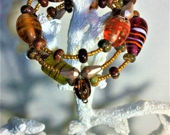 Colourful Big Bead Bracelet