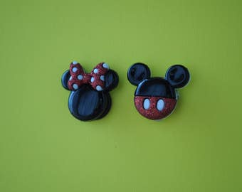 Mickey & Minnie Mouse magnets