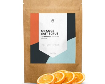 Orange Salt Scrub