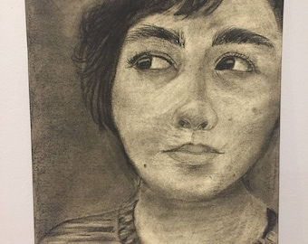 Untitlted - charcoal drawing