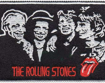 The Rolling Stones Patch The Rolling Stones Iron On The Rolling Stones Birthday The Rolling Stones Gift NOT The Rolling Stones embroidery