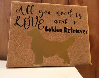 Customized dog sign