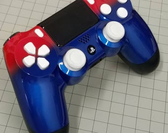 PS4 Dual Shock Controller Just in time for the USA holidays--- Red White and Blue