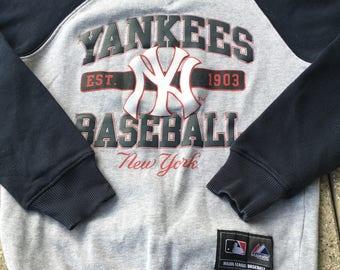 NEW YORK YANKEES Pullover / Sweatshirt Hip Hop Vintage