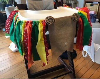 The Very Hungry Caterpillar High Chair Skirt (no number - any age!)
