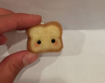 Slice of Bread charm