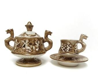 Capodimonte pottery