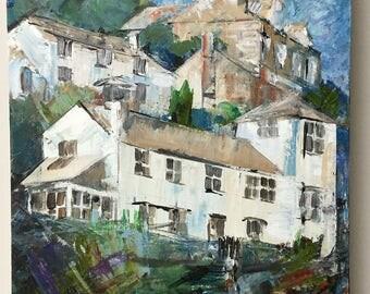 Original painting 'Street in Port Isaac'