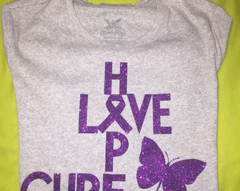 Lupus Shirt---Hope/Love/Cure