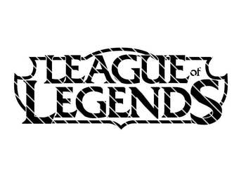 League of Legends Inspired Logo - SVG file