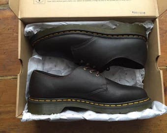 Dr Martens 1641 brown leather shoes