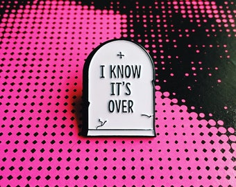 The Smiths Morrissey I Know It's Over Soft Enamel Lapel Pin