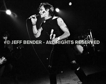 Iggy Pop photograph 1982 - Los Angeles