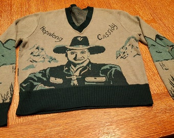 Hopalong Cassidy - Vintage Youth Sweater