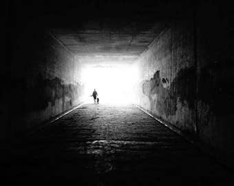 Light at the End of the Tunnel Digital Download Print Photography Art