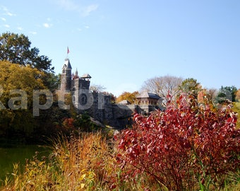 Fine Art Print, Wall Art, New York City: Belvedere Castle in Central Park