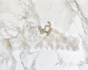 Kylie Lace Choker Necklace