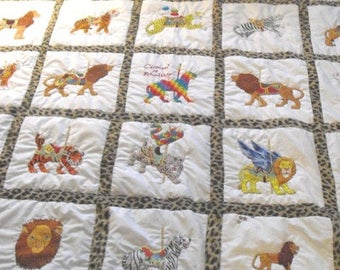 Wild About Jungle Cats Quilt
