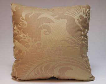 Designer Fabric Throw Pillow, 18x18, Decorative Design Toss Pillow