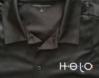 Men's Helo Embroidered Polo