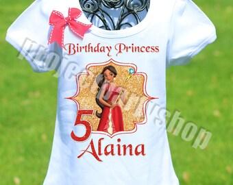 Elena of Avalor Birthday Shirt