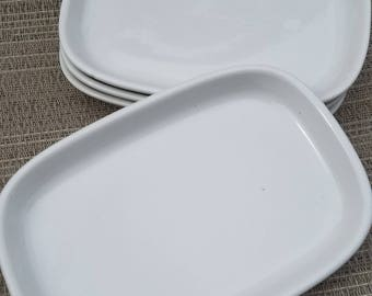 Vintage Pfaltzgraff Airline Snack Dishes for TWA - Set of 4